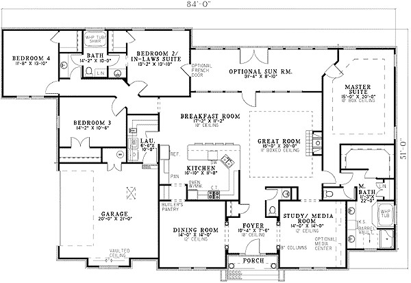 house plans with 2 master suites on main floor