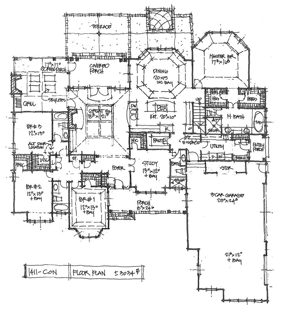 house plans with two master bathrooms