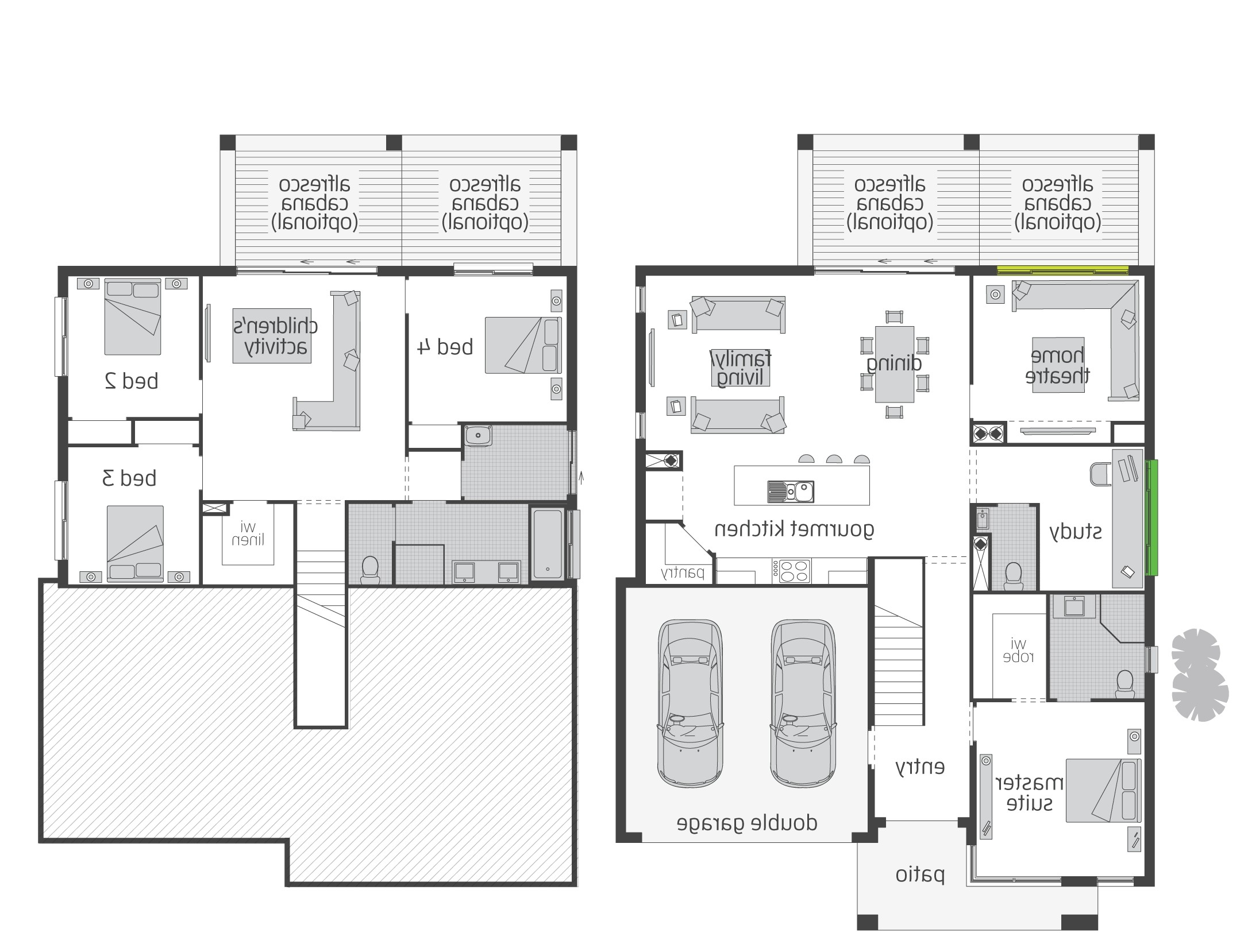 split foyer floor plans