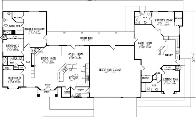 17 artistic house plans with inlaw apartment separate