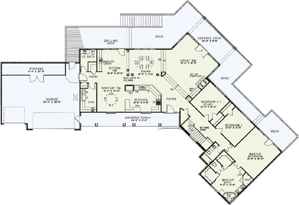 awesome house plans with a view 1 lake house plans with rear view