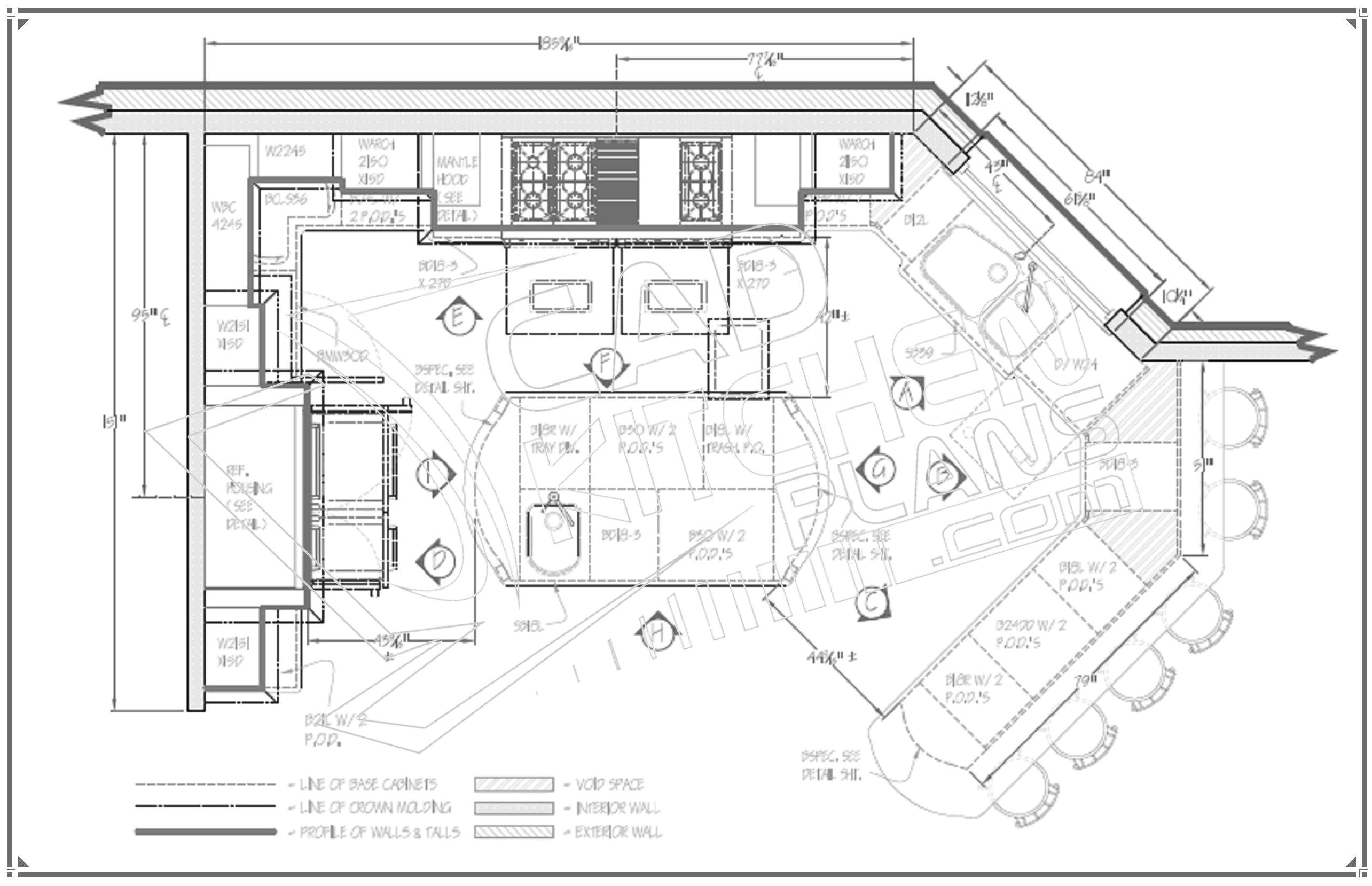 home plans with large kitchen islands