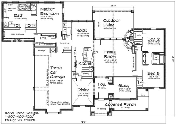 House plans with laundry room attached to master bedroom - Laundry room floor plans ...