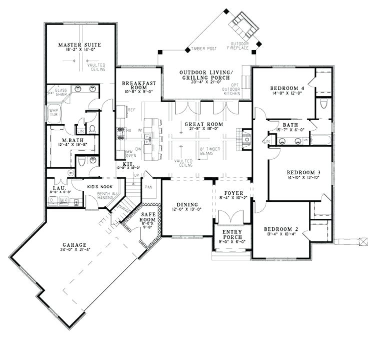 house plans laundry room master closet