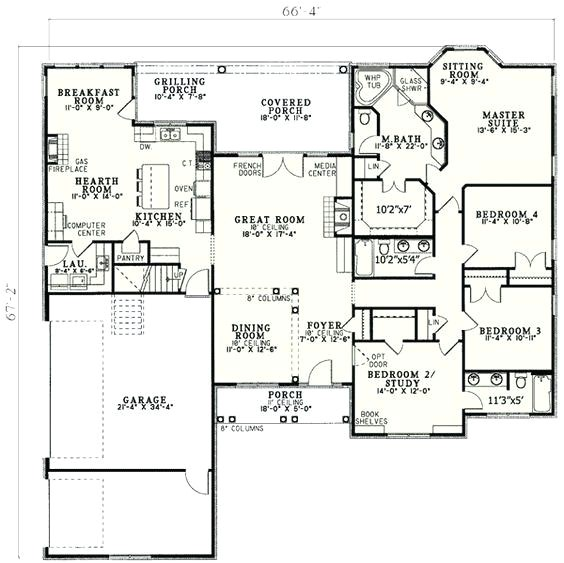 house plans with laundry room by master bedroom