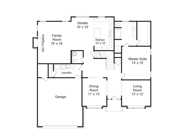 living room addition floor plans
