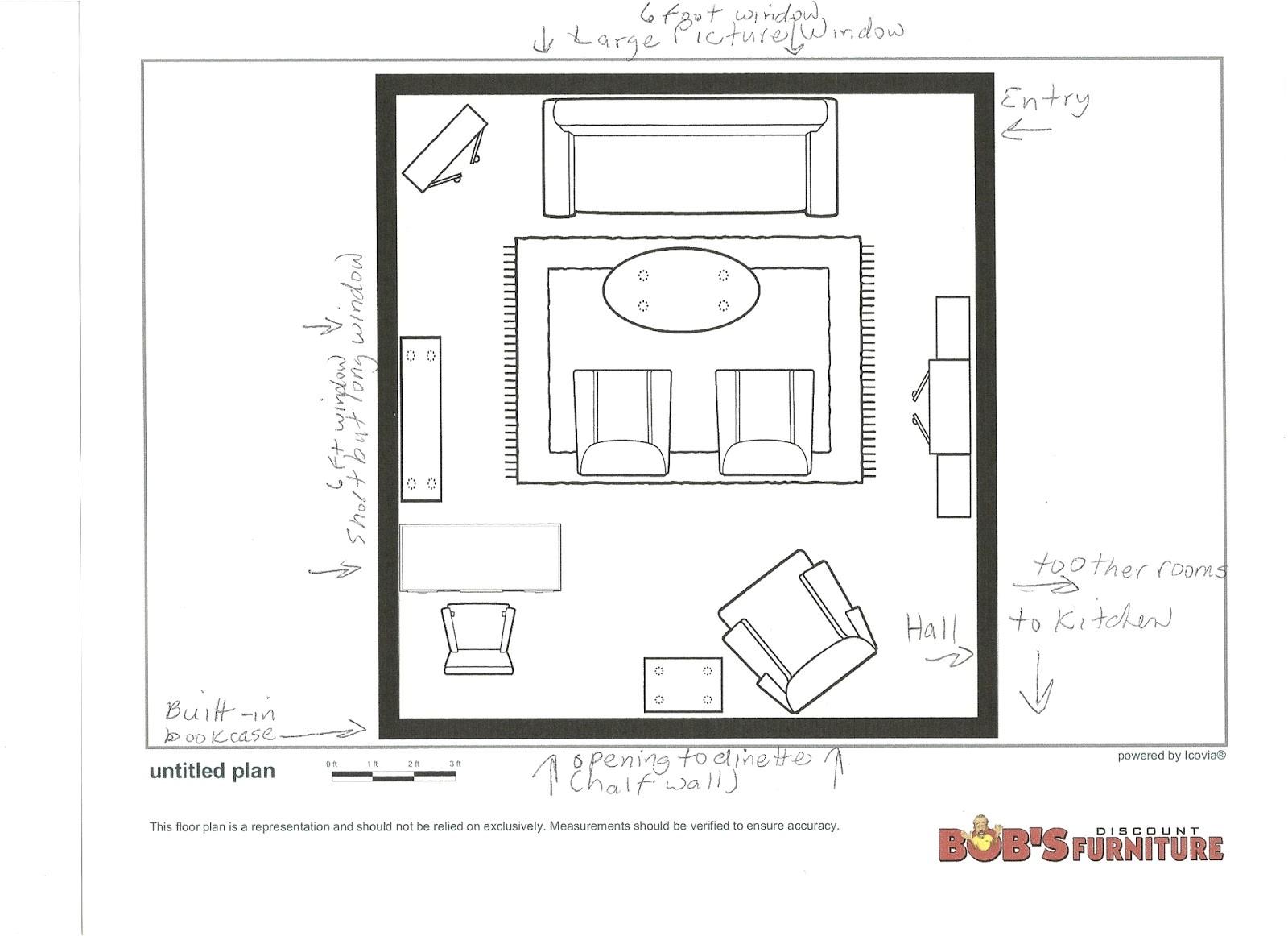 redoing living room 2 floor plan
