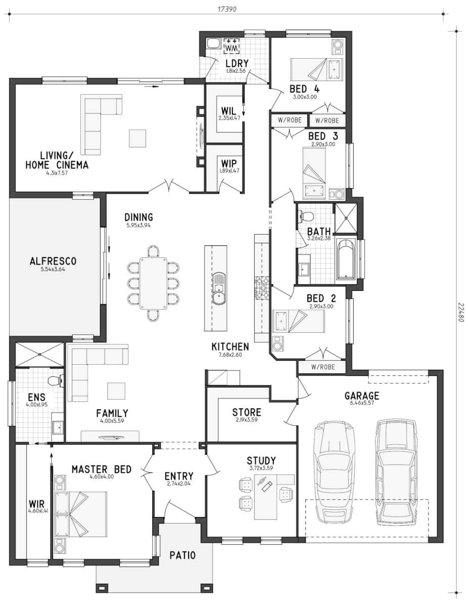 floor plan friday home lots storage
