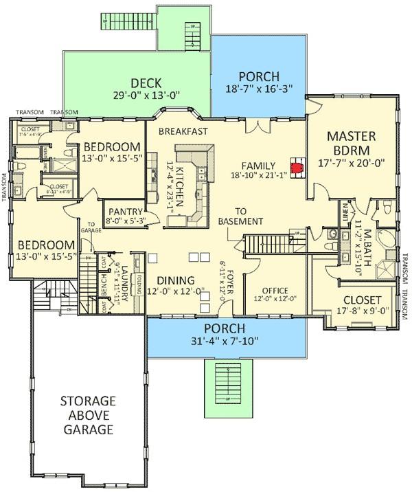 house plan 46273la