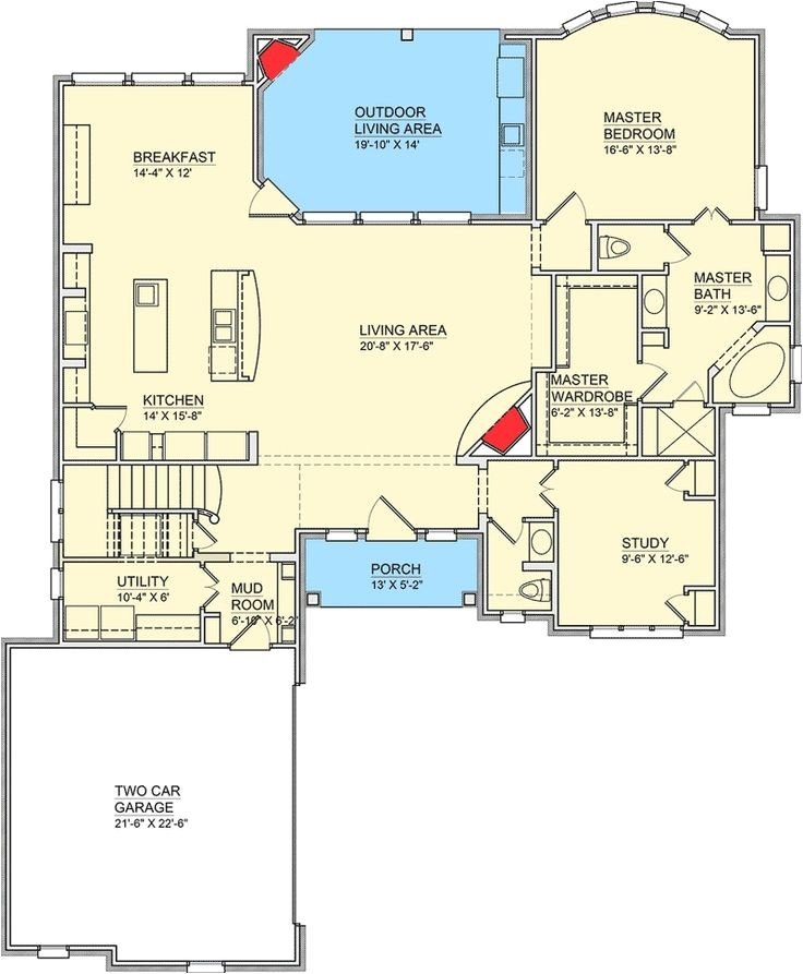 house plans butlers pantry mudroom
