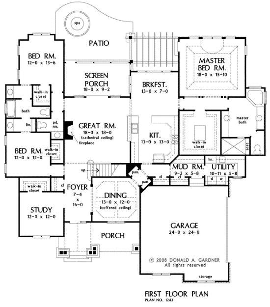 walk in pantry floor plans