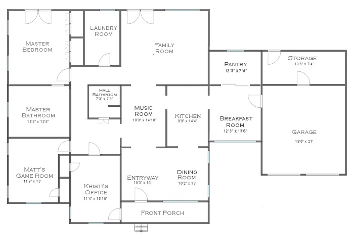house plans without formal living room