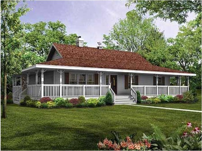 House Plans with Porches All the Way Around House Plans with Porches All the Way Around Cottage