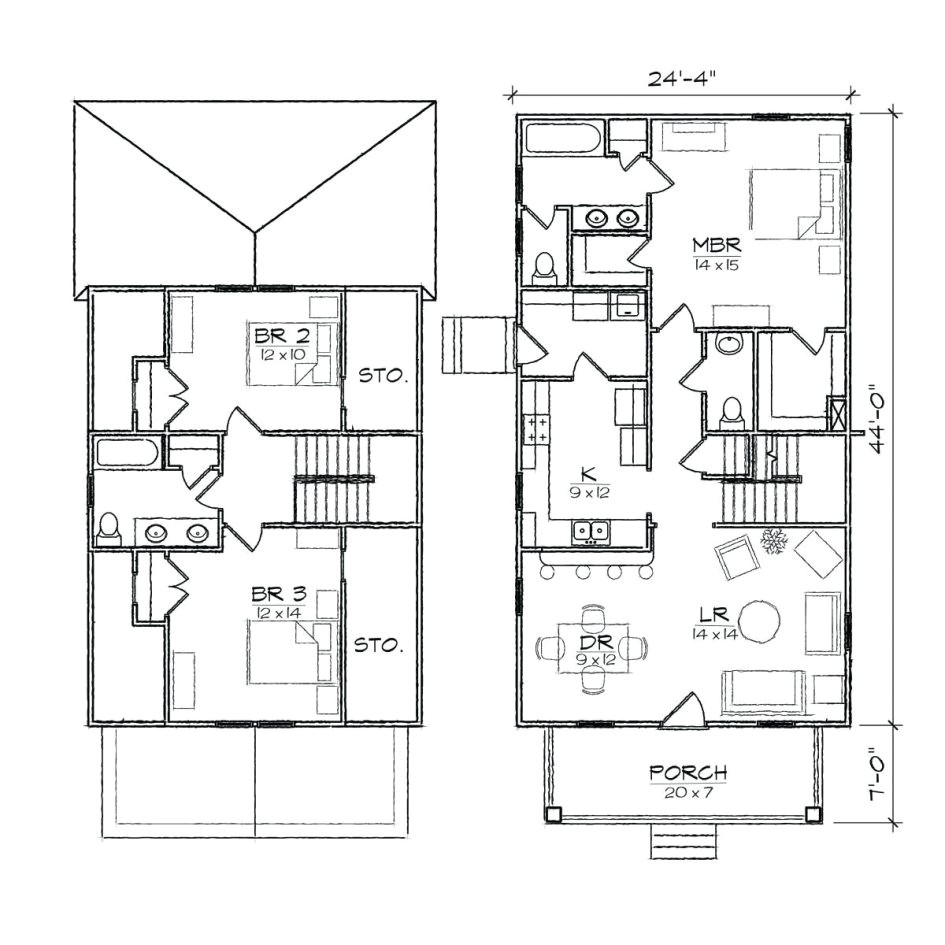 House Plans with Separate Inlaw Suite House Plans with Inlaw ...