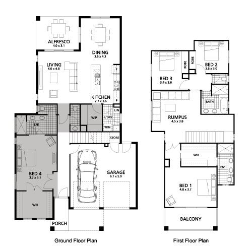 2 story house plans master bedroom downstairs