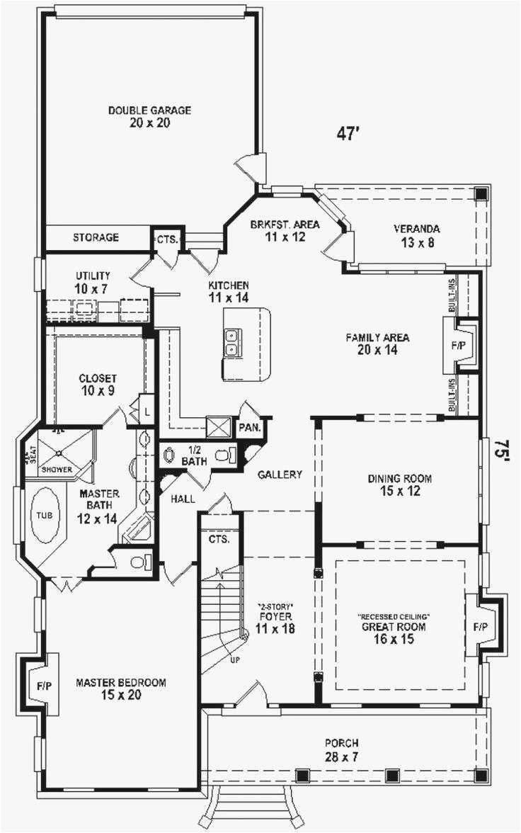 house plans with 2 bedrooms downstairs