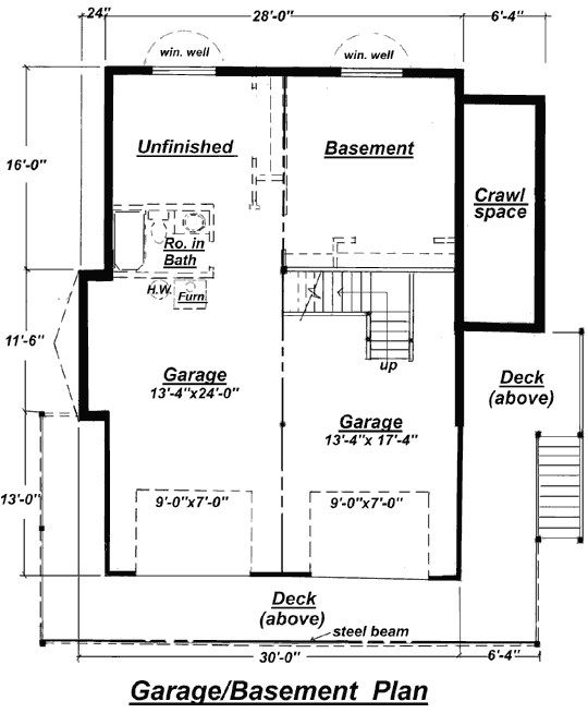 c 511 unfinished basement