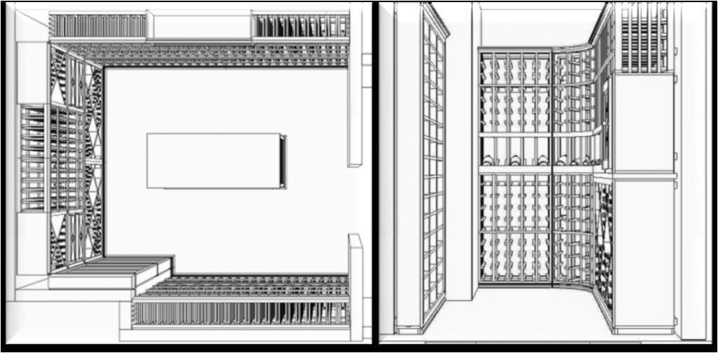 home plans with wine cellars