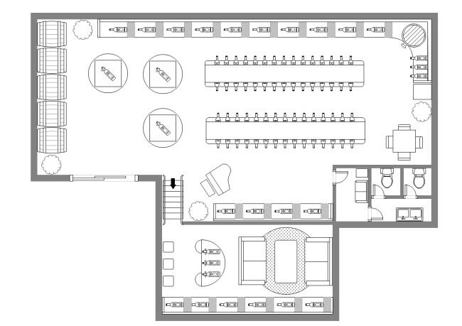 template wine cellar plan