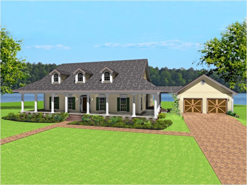House Plans with Wrap Around Porch and Pool Single Story Ranch Style House Plans with Wrap Around