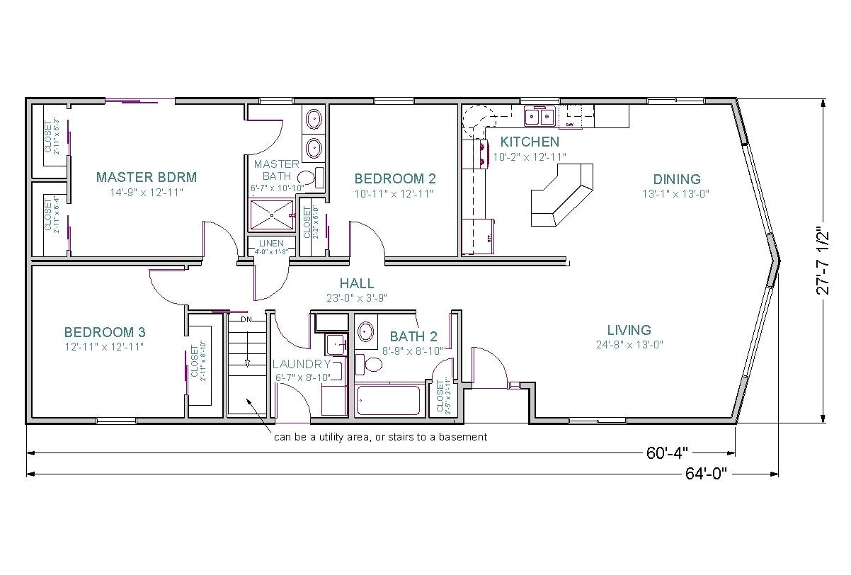 ranch house floor plans with walkout basement elegant ranch home floor plans with walkout basement 3221