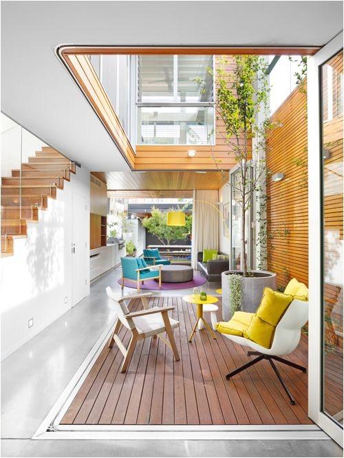 interior courtyard house plans