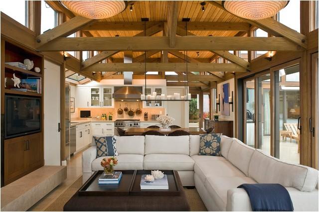 stinson beach beach style living room san francisco