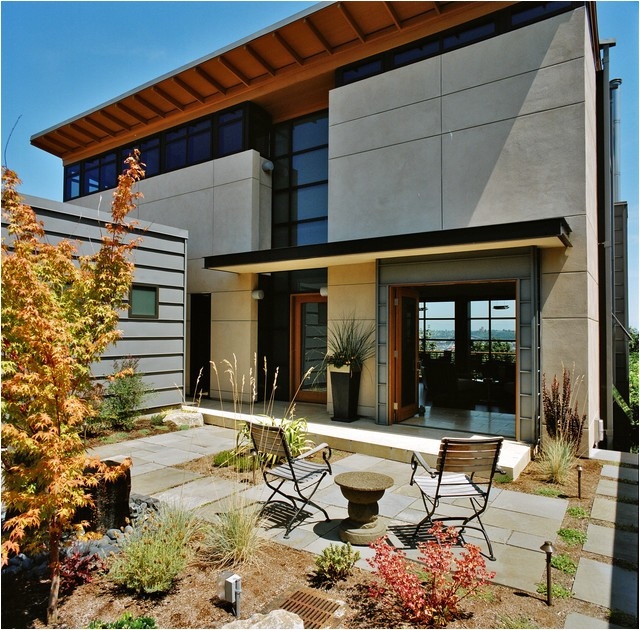 city view residence contemporary exterior seattle