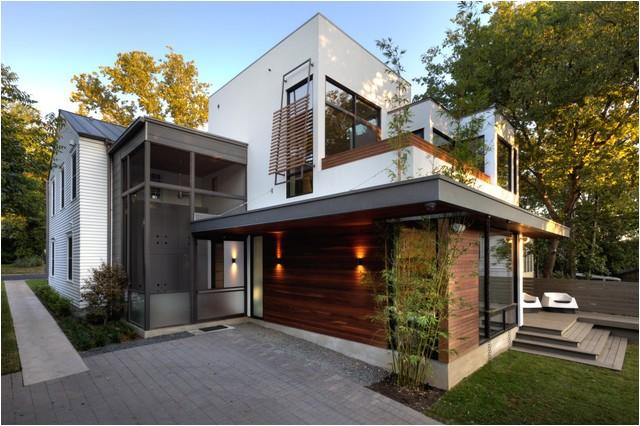 harris back exterior contemporary exterior austin