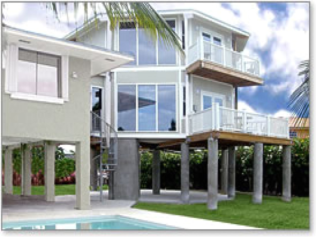 hurricane resistant beach house plans