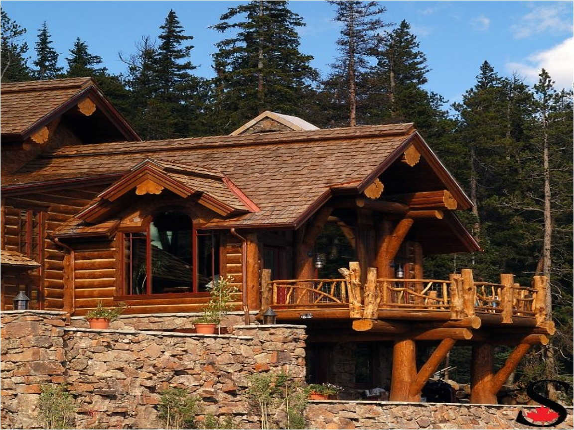 ba2232b713b07789 hybrid log house in colorado log work by sitka log homes hybrid log home plans