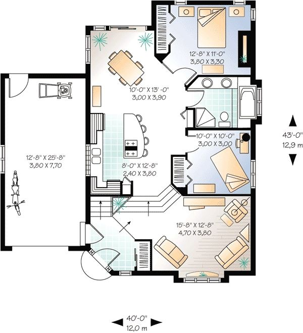 i want to draw you a floor plan of my heart and he