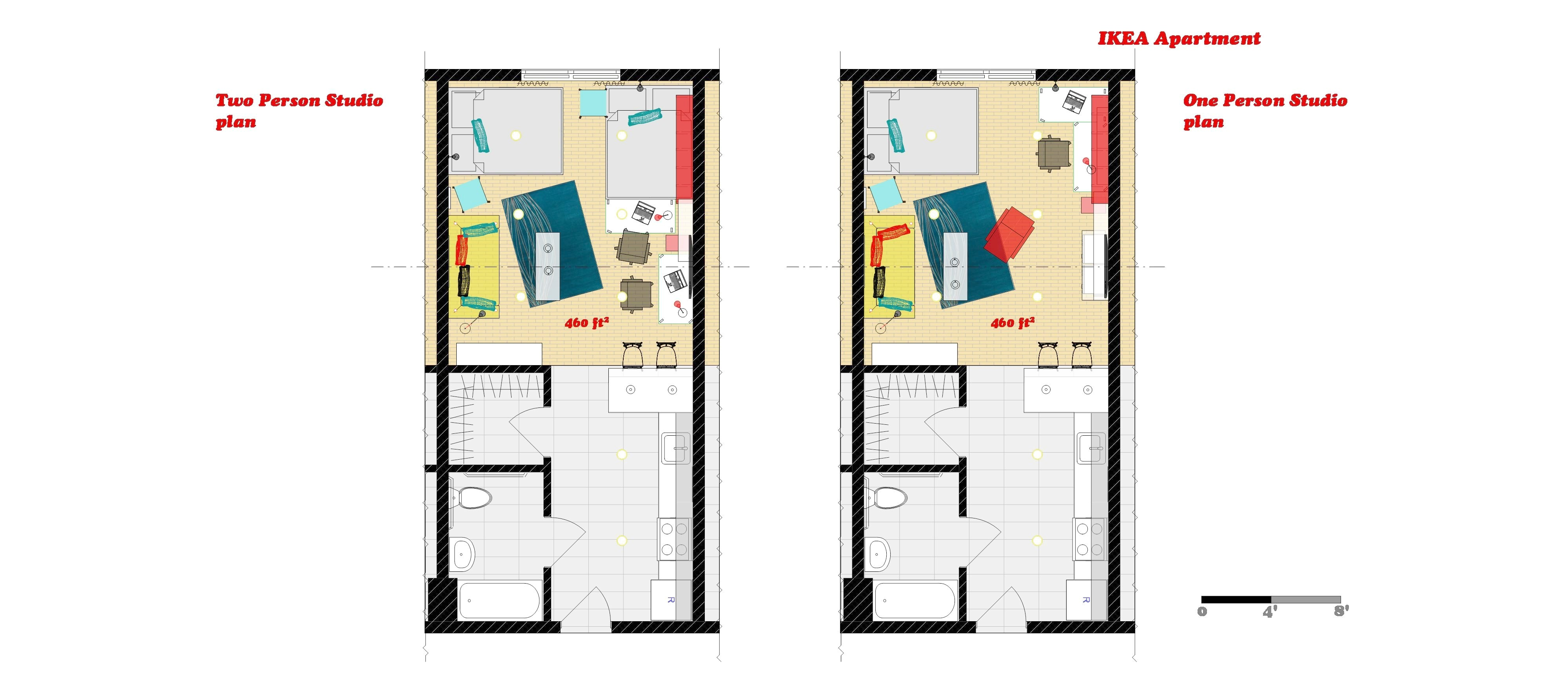 ikea small spaces floor plans