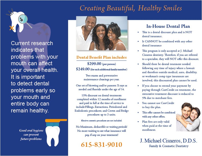 in house dental plan