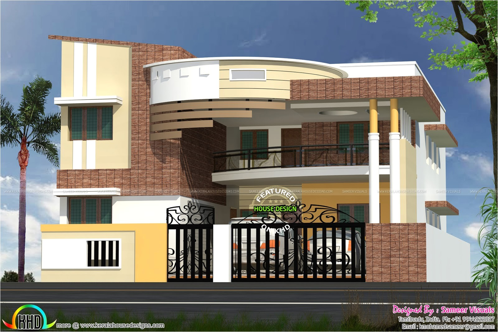 modern contemporary south indian home