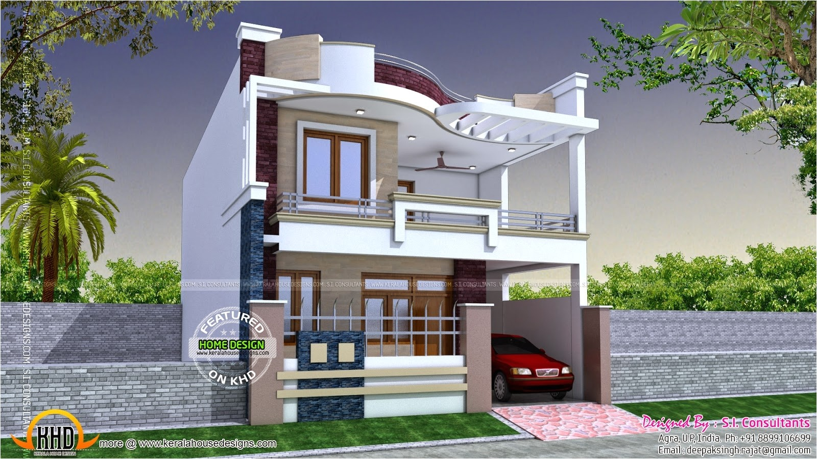 indian modern house plans with photos