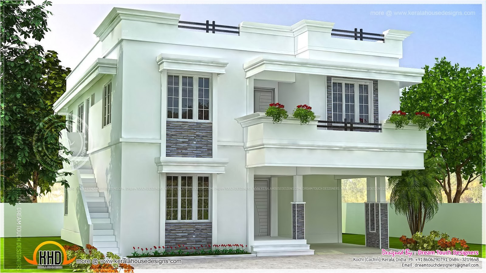 modern beautiful home design indian house plans
