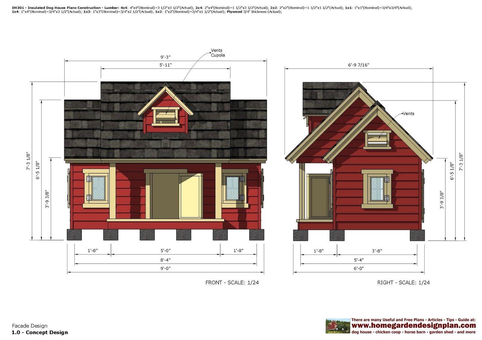dh301 insulated dog house plans dog comment form
