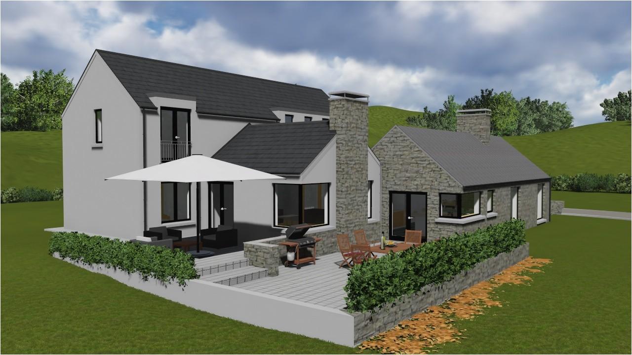 old irish cottage house plans