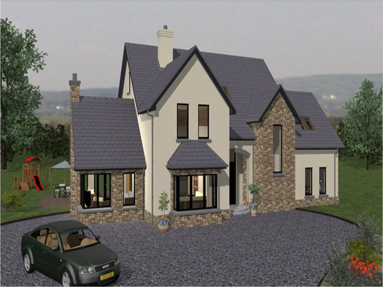 traditional irish cottage house plans