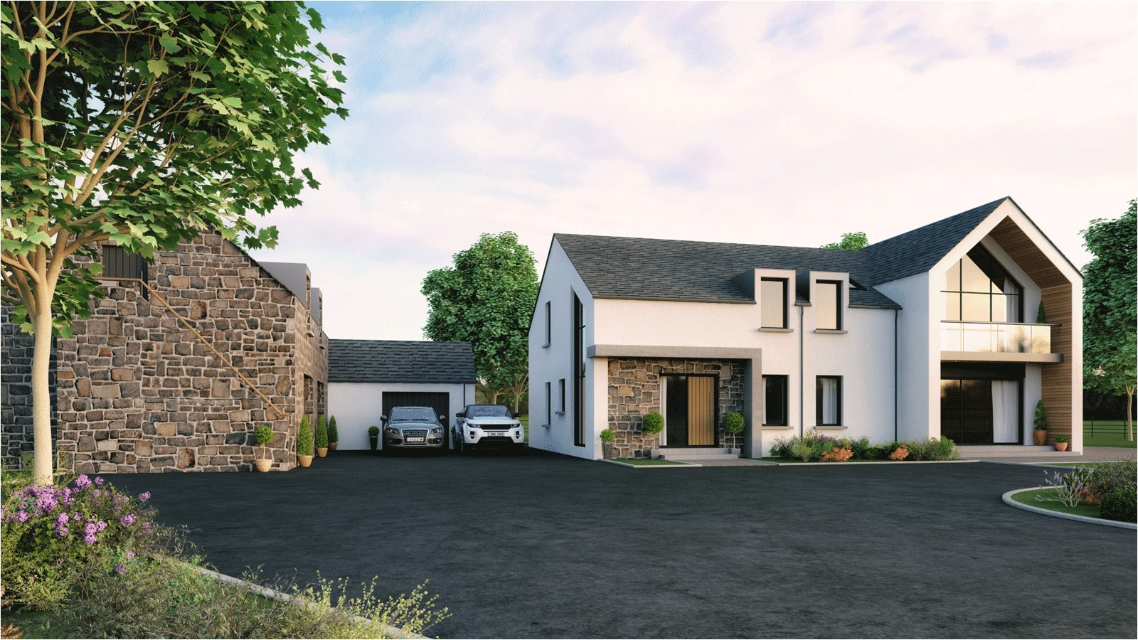 modern irish house plans lovely northern ireland contemporary self builds google search