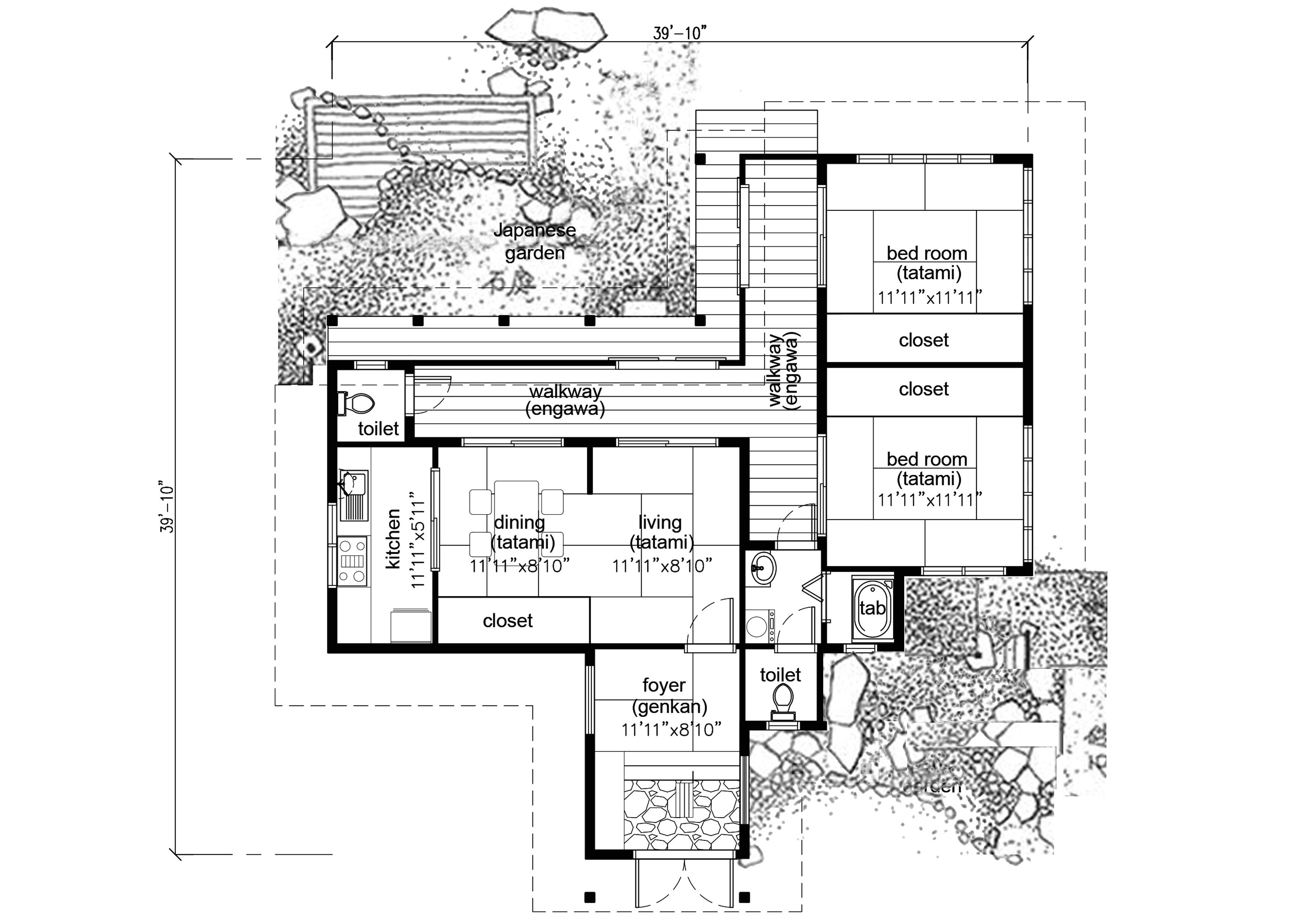 japanese house plans