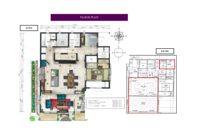 refurbishment plan of japanese style house 44073290