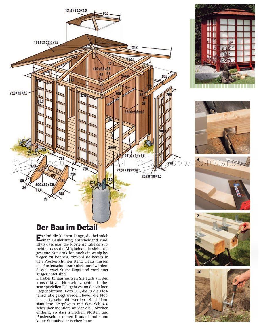 3967 japanese tea house plans