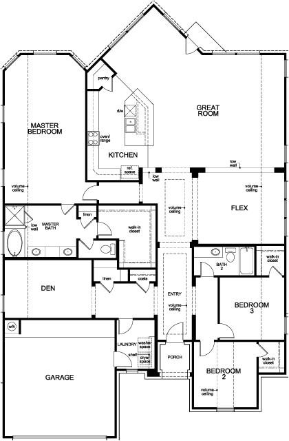 kb home floor plans houston