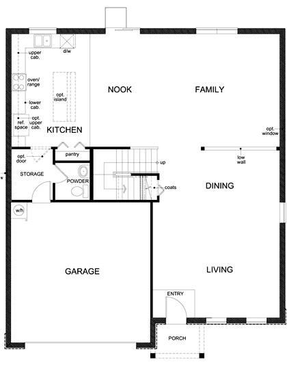 kb home floor plans