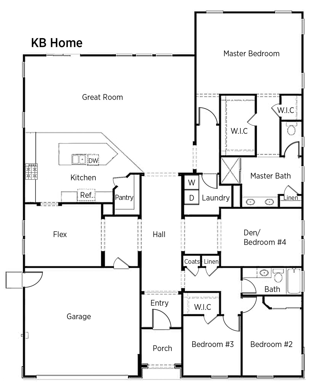 Kb Home Floor Plans Kb Homes Floor Plans Summerlake In Winter Garden by Kb