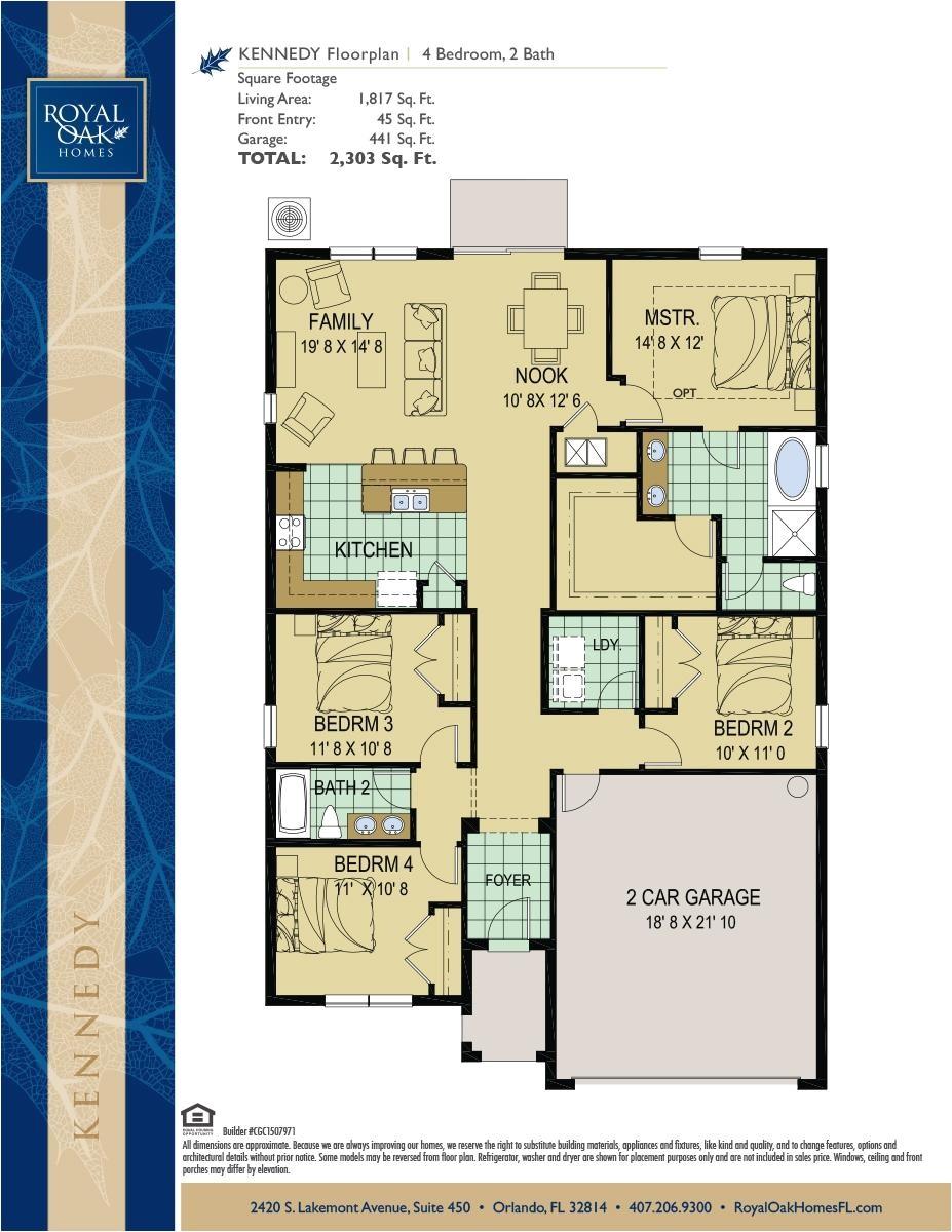 kennedy homes illinois floor plans
