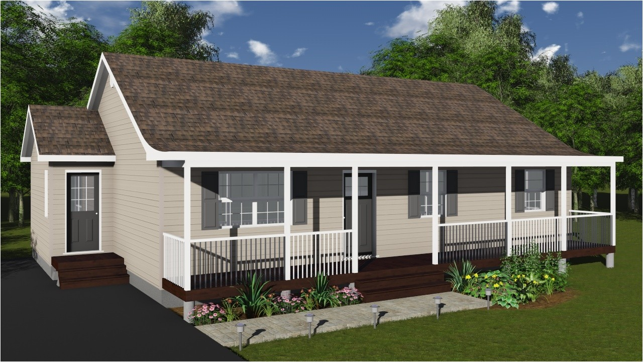 11905 modular home floor plans with front porch