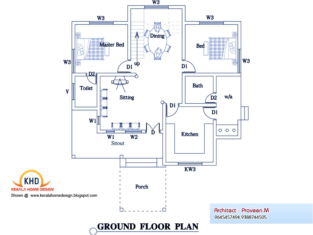home plan and elevation 25